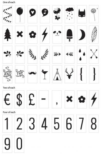 symbolen-set-lightbox A4-A5-Lievelings