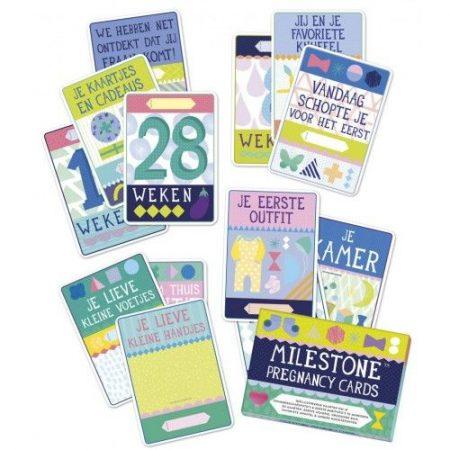 milestone cards zwangerschap overzicht lievelings