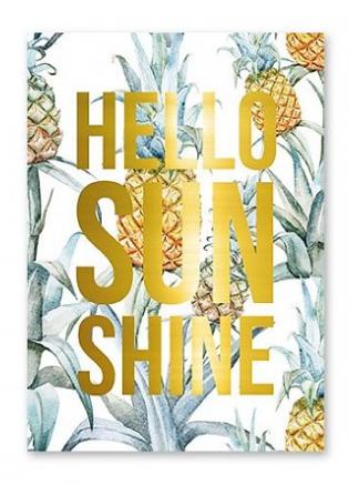Studio stationery Hello Sunshine kaart lievelings