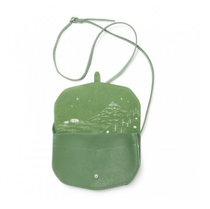 keecie move mountains lievelings forest green bag leather 3