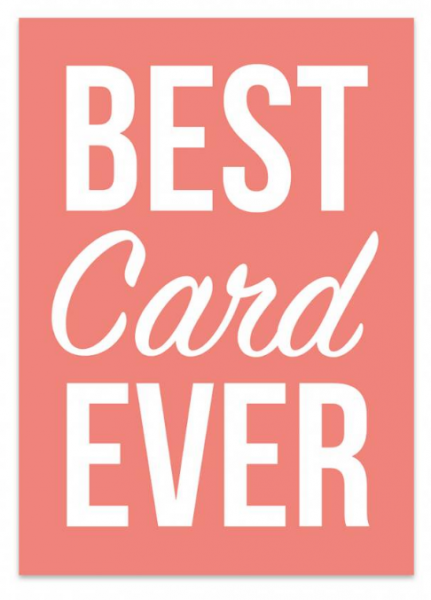 Studio stationery kaart best day ever lievelings
