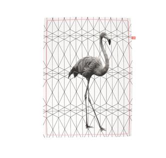 theedoek present time flamingo lievelings