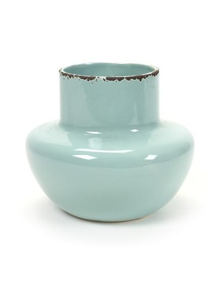 Serax potvaas lichtblauw lievelings vintage look