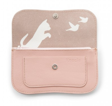 31a87b22e0d Keecie Cat Chase Medium – Portemonnee – Soft Pink – Lievelings